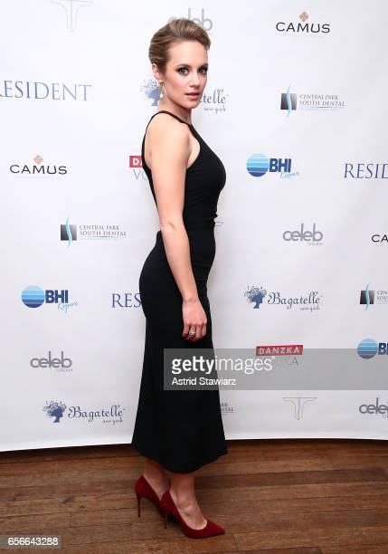 Actress Danielle Savre attends the 'Resident Magazine' March issue cover celebration held at Bagatelle on March 22 2017 in New York City