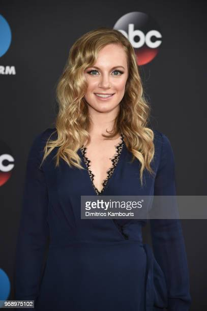 Actress Danielle Savre of Station 19 attends during 2018 Disney ABC Freeform Upfront at Tavern On The Green on May 15 2018 in New York City