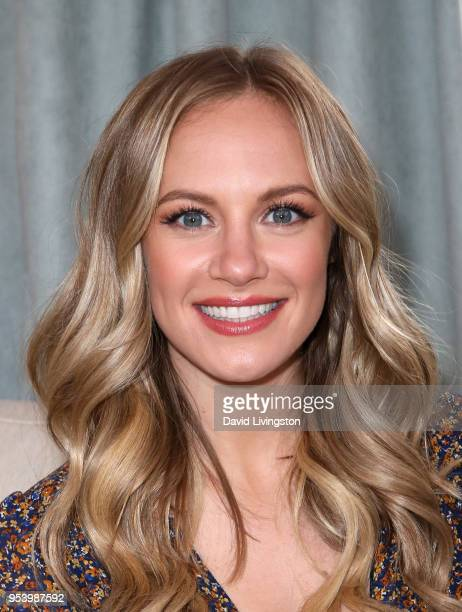 Actress Danielle Savre visits Hallmark's 'Home Family' at Universal Studios Hollywood on May 2 2018 in Universal City California