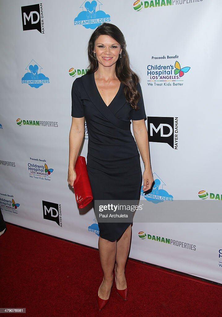 Actress Danielle Vasinov attends the Dream Builders project's 'A Brighter Future For Children' benefit at H.O.M.E. on March 15, 2014 in Beverly Hills, California.