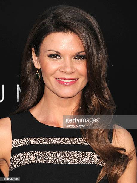 Actress Danielle Vasinova arrives at the Los Angeles premiere of 'Elysium' at Regency Village Theatre on August 7 2013 in Westwood California