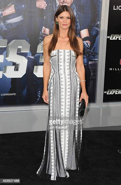 Actress Danielle Vasinova arrives at the Los Angeles Premiere 'The Expendables 3' at TCL Chinese Theatre on August 11 2014 in Hollywood California