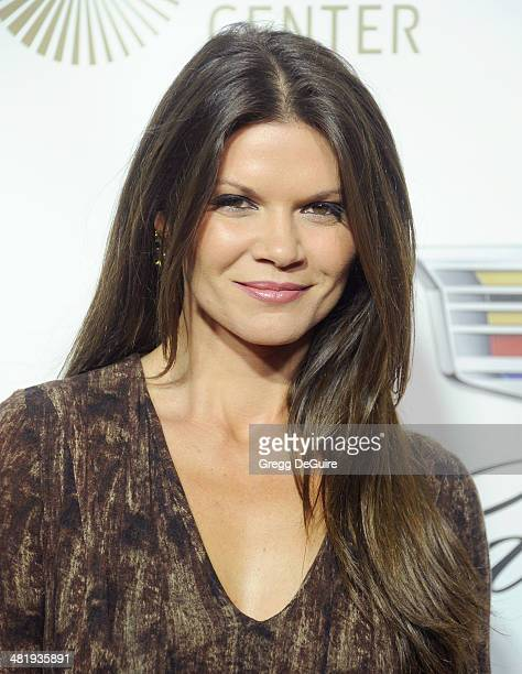Actress Danielle Vasinova arrives at The Music Center's 50th Anniversary launch party at Dorothy Chandler Pavilion on April 1 2014 in Los Angeles...