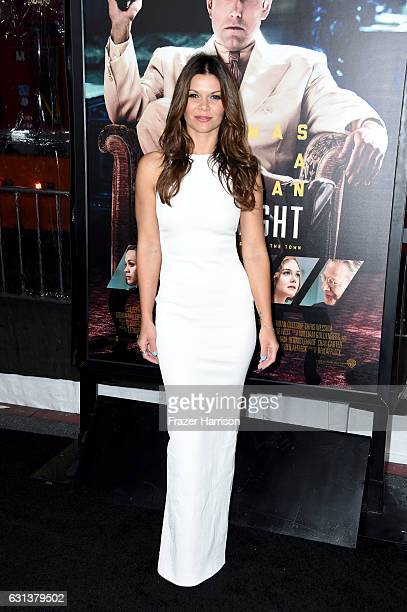 Actress Danielle Vasinova arrives at the Premiere Of Warner Bros Pictures' 'Live By Night' at TCL Chinese Theatre on January 9 2017 in Hollywood...