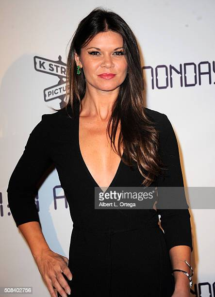 Actress Danielle Vasinova arrives for the Premiere Of 'Monday At 1101 AM' held at AMC Universal City Walk on February 3 2016 in Universal City...