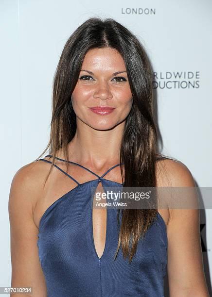 Actress Danielle Vasinova attends BritWeek's 10th Anniversary VIP Reception Gala at Fairmont Hotel on May 1 2016 in Los Angeles California