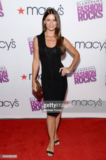 Actress Danielle Vasinova attends Glamorama Fashion Rocks presented by Macy's Passport at Create Nightclub on September 9 2014 in Los Angeles...