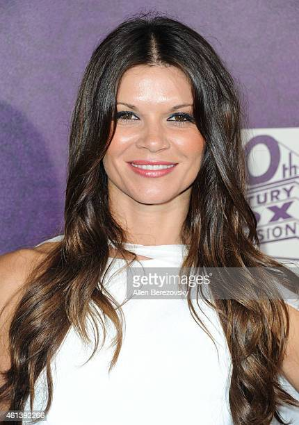 Actress Danielle Vasinova attends the 2015 FOX Golden Globes Party at FOX Pavilion at the Golden Globes on January 11 2015 in Beverly Hills California