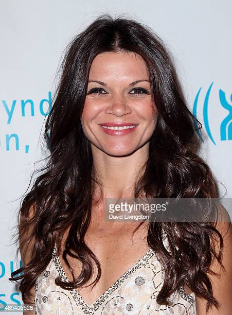 Actress Danielle Vasinova attends the 2nd Annual Hollywood Heals Spotlight On Tourette Syndrome at House of Blues Sunset Strip on March 5 2015 in...