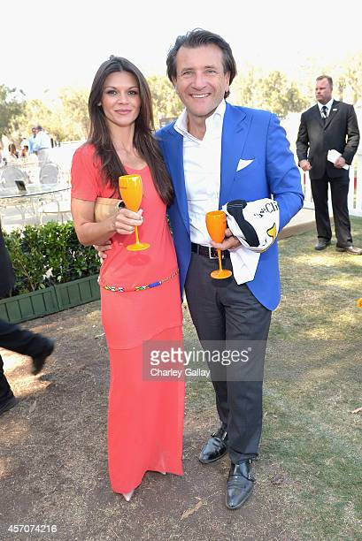 Actress Danielle Vasinova attends the FifthAnnual Veuve Clicquot Polo Classic at Will Rogers State Historic Park on October 11 2014 in Pacific...