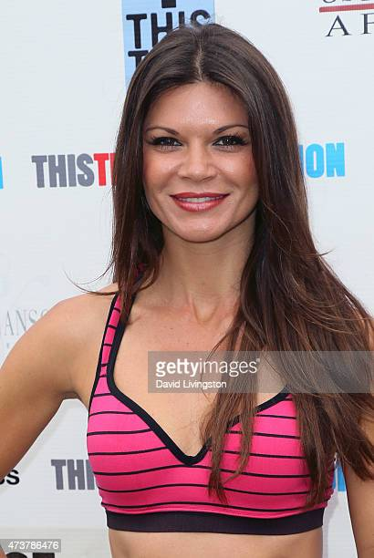 Actress Danielle Vasinova attends the Josh Duhamel Relief Run with the wwwThisTimeFoundationOrg to raise funds for Nepal victims on May 17 2015 in...