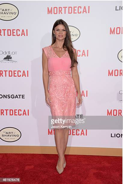 Actress Danielle Vasinova attends the premiere of Lionsgate's 'Mortdecai' at TCL Chinese Theatre on January 21 2015 in Hollywood California