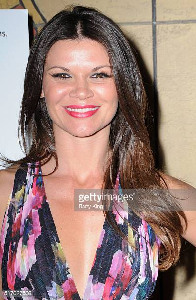 Actress Danielle Vasinova attends the premiere of Sony Pictures Classics' 'I Saw The Light' at the Egyptian Theatre on March 22 2016 in Hollywood...