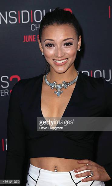 Actress Danielle Vega attends the premiere of Focus Features' 'Insidious Chapter 3' at the TCL Chinese Theatre on June 4 2015 in Hollywood California