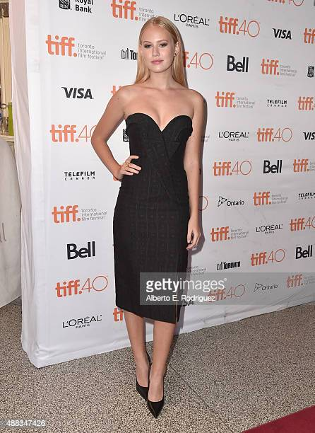 Actress Danika Yarosh attends the 'Heroes Reborn' premiere during the 2015 Toronto International Film Festival at the Winter Garden Theatre on...