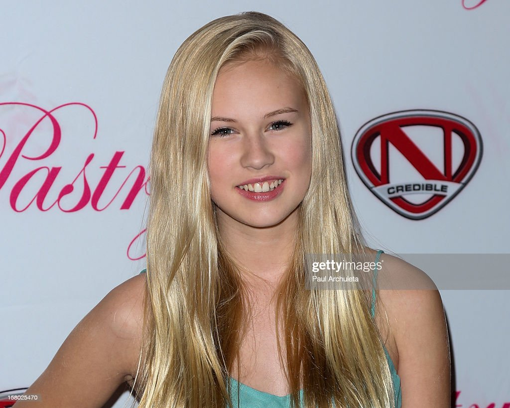 Actress Danika Yarosh attends the 'Skate & Donate' charity event at the Moonlight Rollerway on December 8, 2012 in Glendale, California.