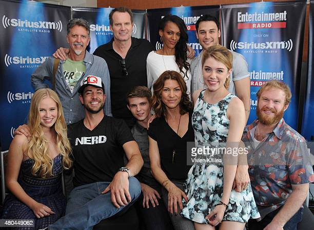 Actress Danika Yaroush writer Tim Kring actors Zachary Levi Jack Coleman Robbie Kay Judith Shekoni Rya Kihlstedt Ryan Guzman Gatlin Green and Henry...