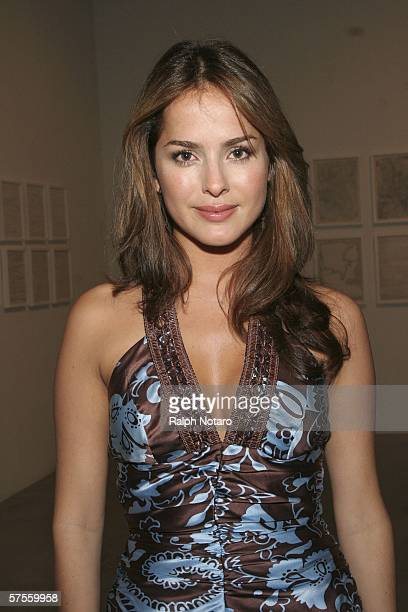 "Actress Danna Garcia attends the ""Poseidon"" screenng VIP Gala on May 8, 2006 in Miami, Florida."