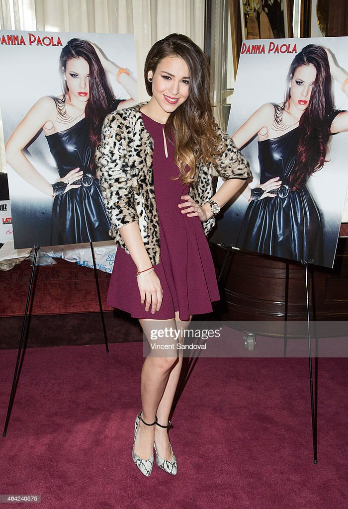 Danna Paola Press Conference And Meet And Greet