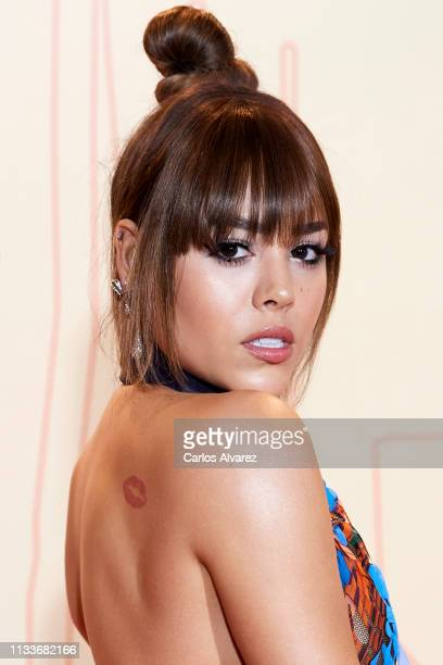 Actress Danna Paola attends the Fotogramas Awards 2019 at Florida Park Club on March 04 2019 in Madrid Spain