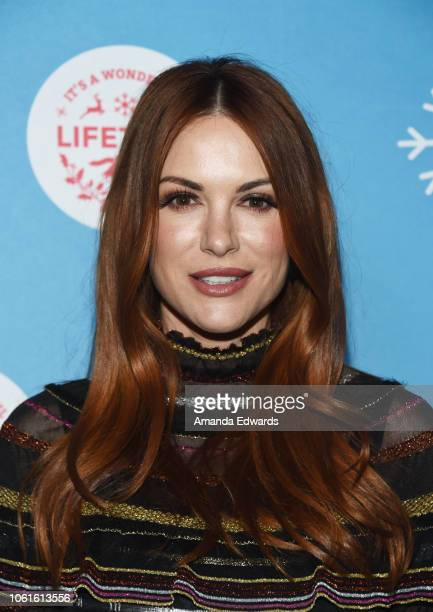Actress Danneel Ackles attends the opening night celebration of the LifeSized Gingerbread House Experience at The Grove with the Stars of Lifetime's...
