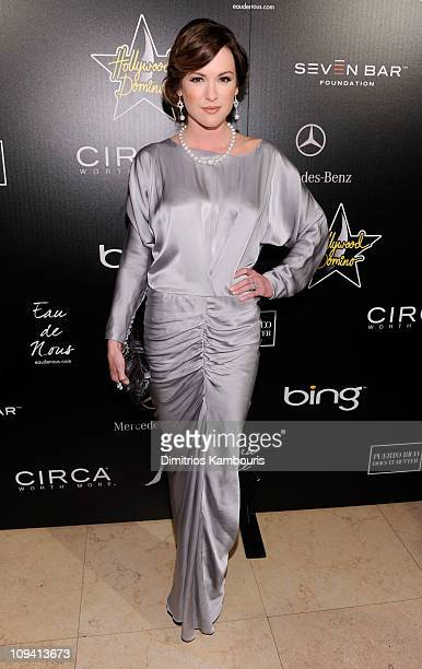 Actress Danneel Harris arrives at the Hollywood Domino Gala presented by Circa and Bing in support of Seven Bar Foundation held at Sunset Tower on...
