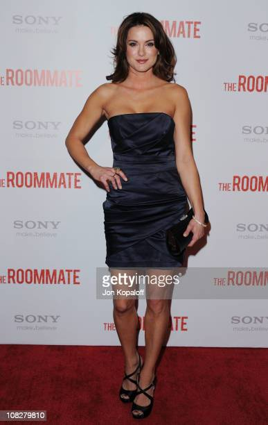 Actress Danneel Harris arrives at the Los Angeles Premiere The Roommate at Soho House on January 23 2011 in West Hollywood California