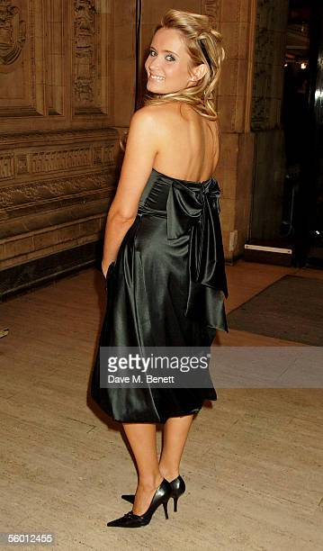 Actress Dannielle Brent arrives at the National Television Awards 2005 at the Royal Albert Hall on October 25 2005 in London England