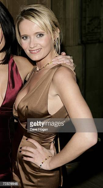 Actress Dannielle Brent arrives at the National Television Awards 2006 at the Royal Albert Hall October 31 2006 in London England