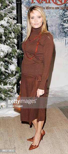 Actress Dannielle Brent arrives at the Royal Film Performance and World Premiere of The Chronicles Of Narnia The Lion The Witch and The Wardrobe at...