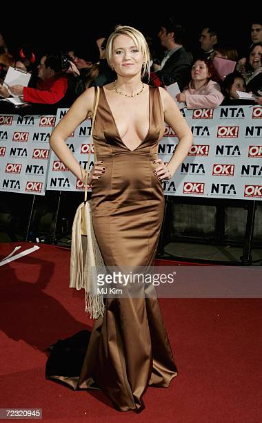 Actress Dannielle Brent attends the National Television Awards 2006 held at the Royal Albert Hall on October 31 2006 in London England