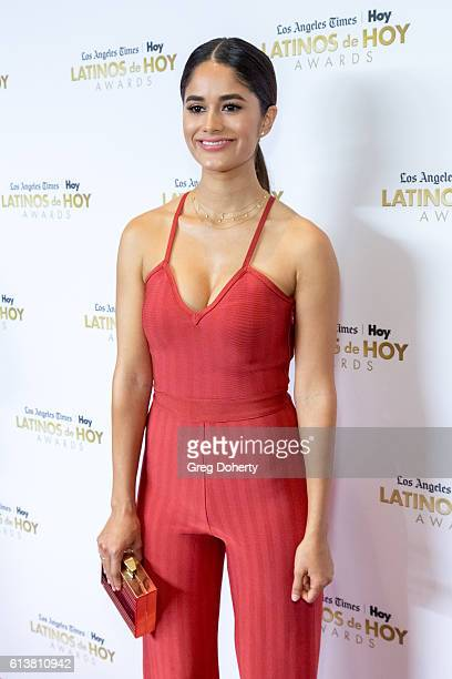 Actress Danube Hermosillo arrives for the 2016 Latino's De Hoy Awards at the Dolby Theatre on October 9 2016 in Hollywood California