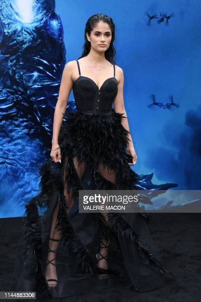 US actress Danube Hermosillo arrives to attend the world premiere of Godzilla King of the Monsters at TCL Chinese Theatre on May 18 2019 in Hollywood