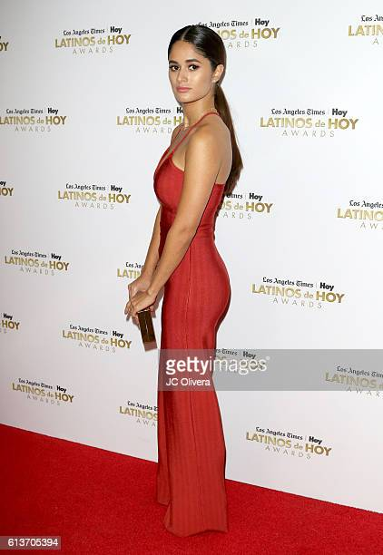 Actress Danube Hermosillo attends the 2016 Latinos de Hoy Awards at Dolby Theatre on October 9 2016 in Hollywood California