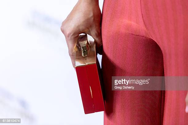Actress Danube Hermosillo Fashion Detail arrives for the 2016 Latino's De Hoy Awards at the Dolby Theatre on October 9 2016 in Hollywood California