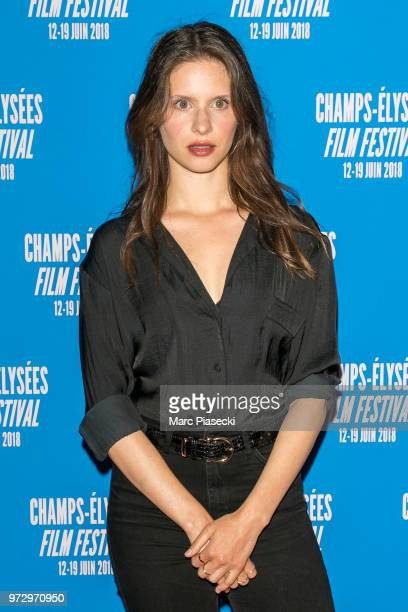 Actress Daphne Patakia attends the 7th Champs Elysees Film Festival at Cinema Gaumont Marignan on June 12 2018 in Paris France