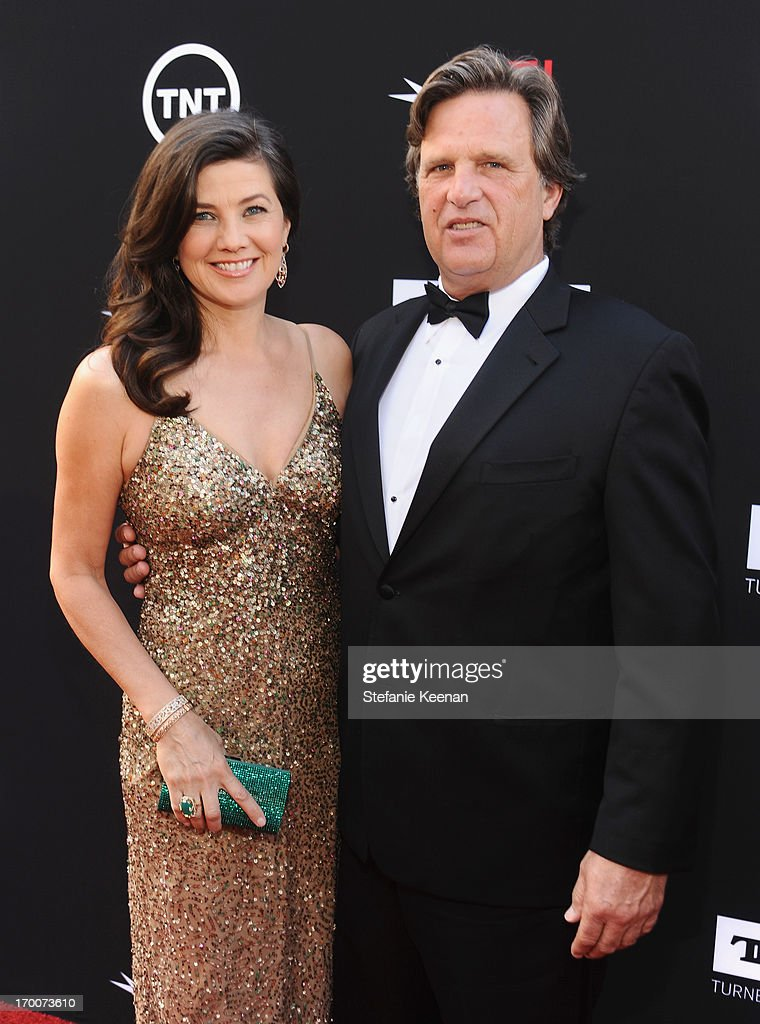 Actress Daphne Zuniga (L) and David Mleczko attend AFI's 41st Life Achievement Award Tribute to Mel Brooks at Dolby Theatre on June 6, 2013 in Hollywood, California. 23647_003_SK_0202.JPG