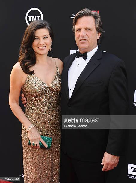 Actress Daphne Zuniga and David Mleczko attend AFI's 41st Life Achievement Award Tribute to Mel Brooks at Dolby Theatre on June 6 2013 in Hollywood...