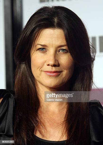 Actress Daphne Zuniga arrives at the Entertainment Weekly And Women In Film's PreEmmy Party on September 17 2009 in Los Angeles California