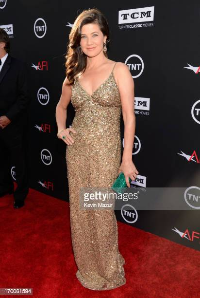 Actress Daphne Zuniga attends AFI's 41st Life Achievement Award Tribute to Mel Brooks at Dolby Theatre on June 6 2013 in Hollywood California