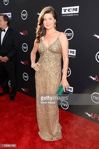Actress Daphne Zuniga attends AFI's 41st Life Achievement Award Tribute to Mel Brooks at Dolby Theatre on June 6 2013 in Hollywood California...