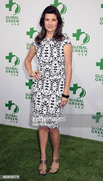 Actress Daphne Zuniga attends Global Green USA's 12th Annual PreOscar Party at Avalon Hollywood on February 18 2015 in Los Angeles California