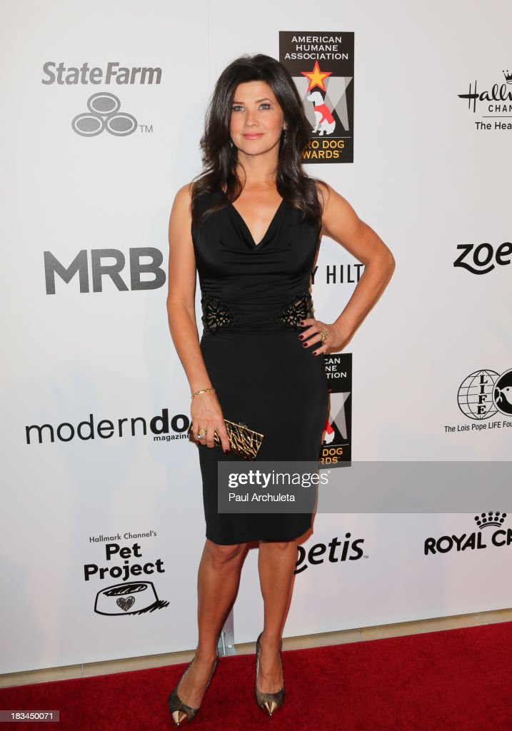 Actress Daphne Zuniga attends the 3rd annual American Humane Association Hero Dog Awards at The Beverly Hilton Hotel on October 5, 2013 in Beverly Hills, California.