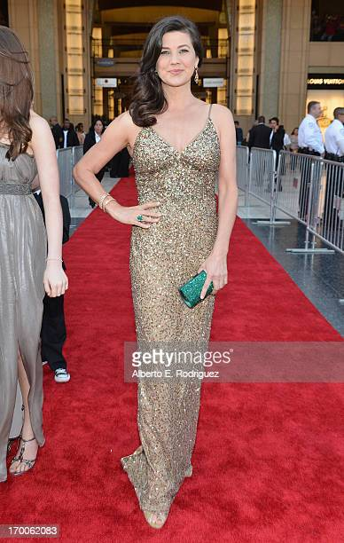 Actress Daphne Zuniga attends the 41st AFI Life Achievement Award Honoring Mel Brooks at Dolby Theatre on June 6 2013 in Hollywood California Special...