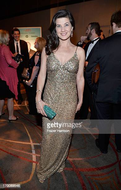 Actress Daphne Zuniga attends the 41st AFI Life Achievement Award Honoring Mel Brooks after party at Dolby Theatre on June 6 2013 in Hollywood...
