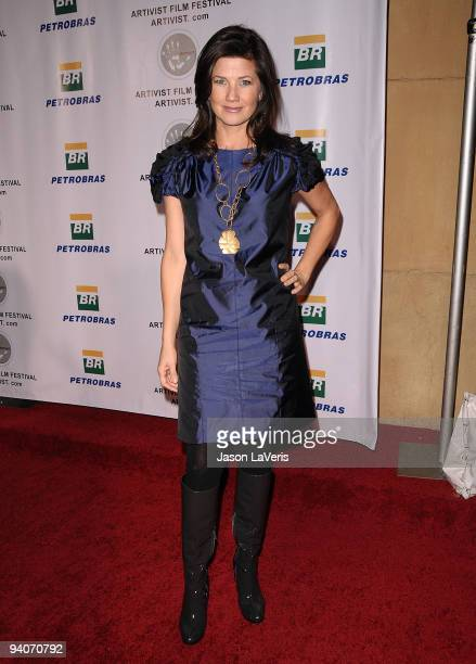 Actress Daphne Zuniga attends the 6th annual Artivist Film Festival Awards at the Egyptian Theatre on December 5 2009 in Hollywood California