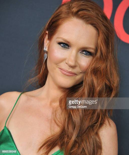 Actress Darby Stanchfield arrives at ABC's 'Scandal' 100th Episode Celebration at Fig Olive on April 8 2017 in West Hollywood California