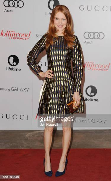 Actress Darby Stanchfield arrives at The Hollywood Reporter's 22nd Annual Women In Entertainment Breakfast 2013 at Beverly Hills Hotel on December...