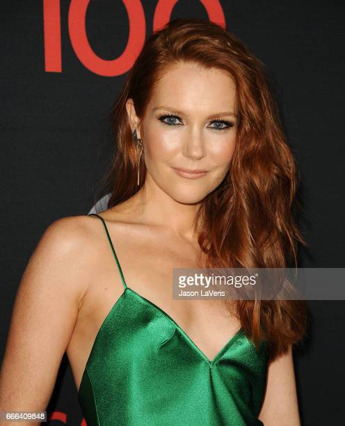 Actress Darby Stanchfield attends ABC's 'Scandal' 100th episode celebration at Fig Olive on April 8 2017 in West Hollywood California