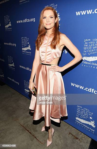 Actress Darby Stanchfield attends Children's Defense Fund California Hosts 24th Annual Beat The Odds Awards at Book Bindery on December 4 2014 in...